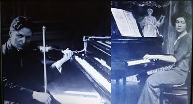 Cella Delavrancea și George Enescu